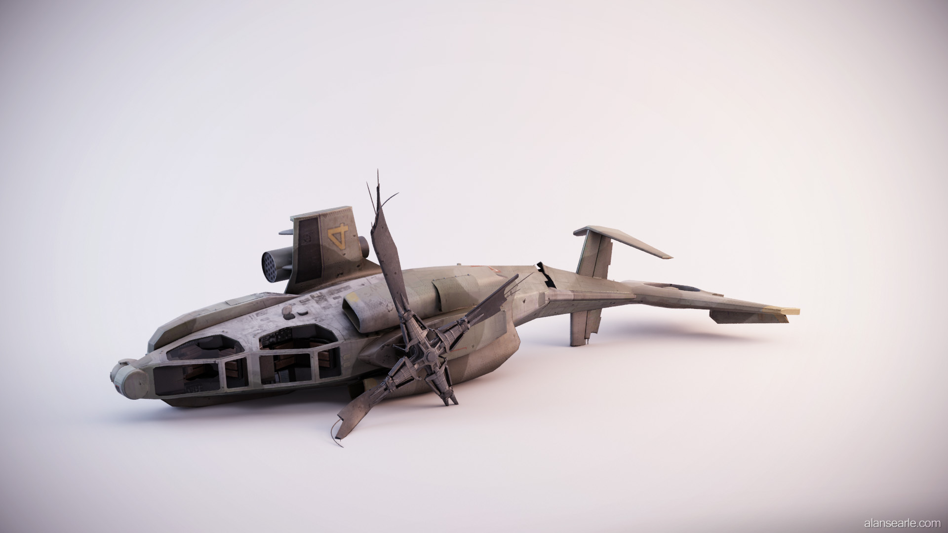 Downed Attack Chopper