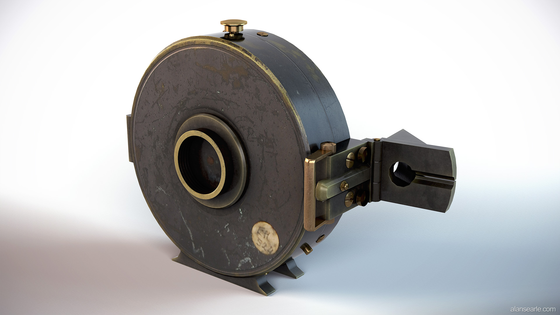 Early 20th Century Compass
