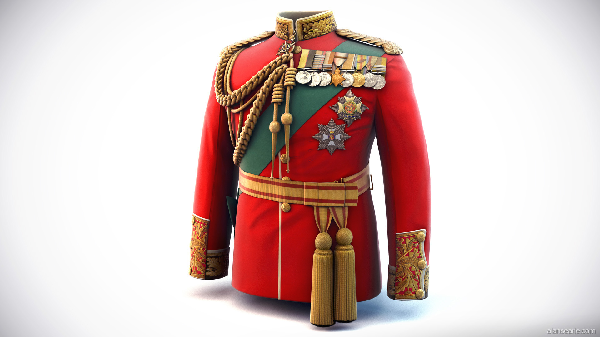 Earl Haig's Dress Tunic